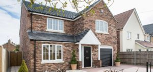 Private single new build 4 bedroom house, Blundeston. Architectural design, planning and SAP calculations.