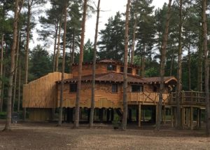 SAP calculations project. Luxury holiday home treehouses at Centre Parcs, Elveden