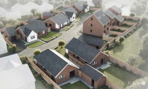 New build development at Clydesdale Drive, Hemsby, Norfolk